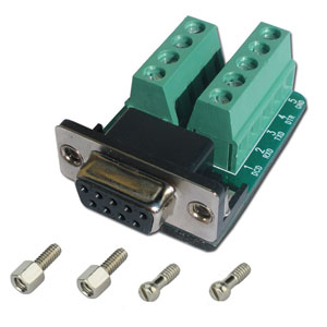 db9 terminal block header